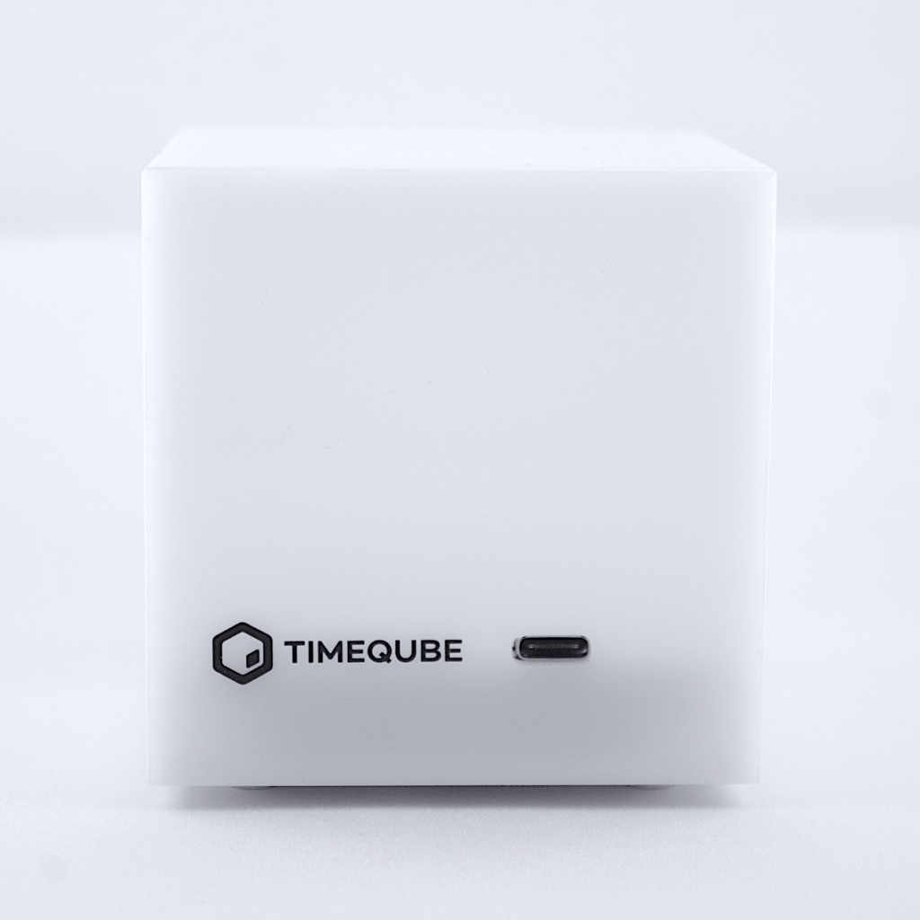 Timeqube meeting productivity device