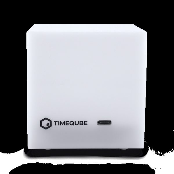 Timeqube front view