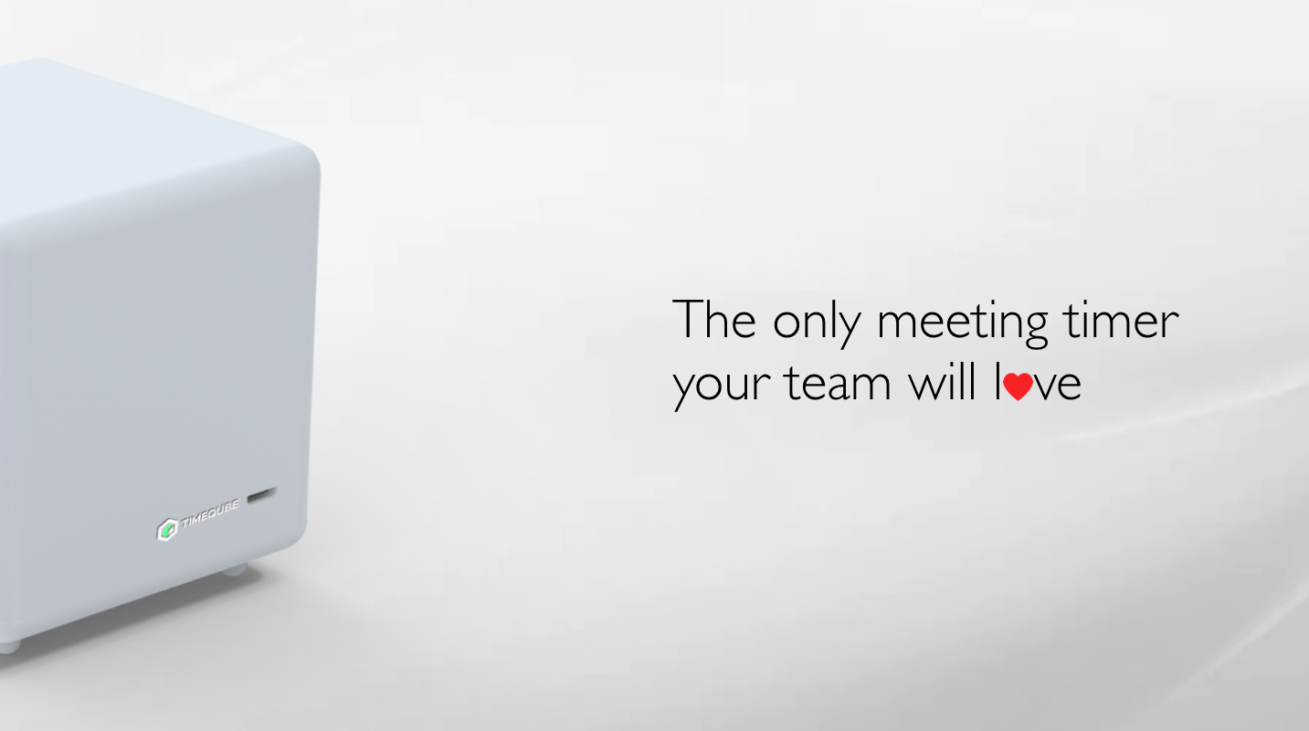 Timeqube the only meeting timer your team will love
