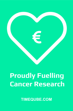 Timeqube proudly fuling cancer research